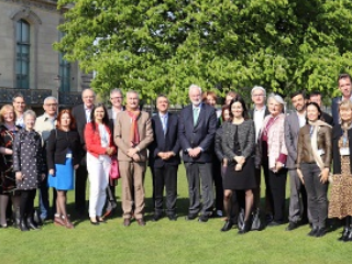 Group picture at the ICAS Annual Meeting of 15 April 2019, Paris