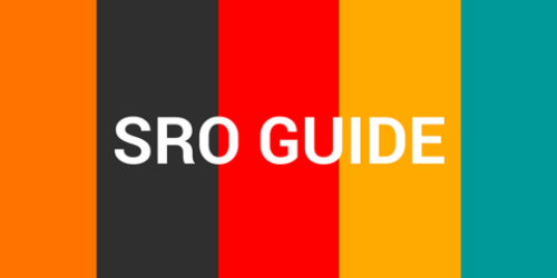 New edition of the SRO Guide